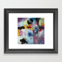 Jellyfishes At The Disco Framed Art Print