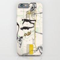 iPhone & iPod Case featuring Schéma d'alimentation en Combustible de Moteur by Raul Gil