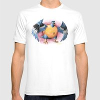 Can It Fly? Mens Fitted Tee White SMALL