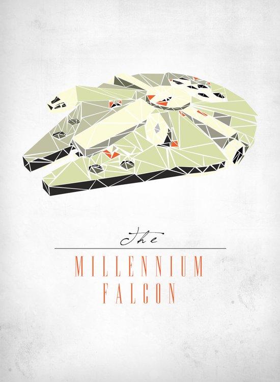 The Millennium Falcon Art Print
