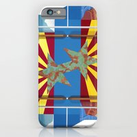 iPhone & iPod Case featuring Altered State: AZ by Eldon Ward