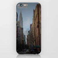 iPhone & iPod Case featuring NY bluff by Constanza Ruiz