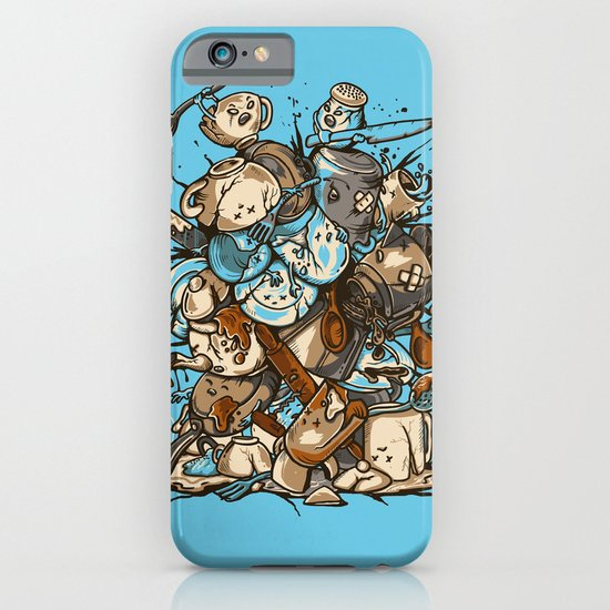 Kitchen Fight iPhone & iPod Case