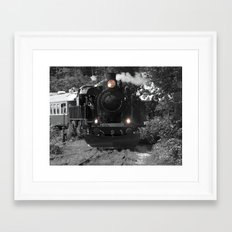 Wakefield Steam Train Framed Art Print