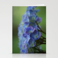 Purple Hydrangea Stationery Cards