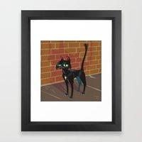 Cat City Framed Art Print