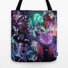 Robot Girl 2 Tote Bag