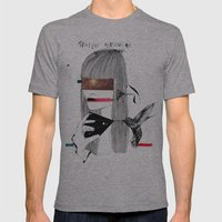 The Capture Mens Fitted Tee Athletic Grey SMALL