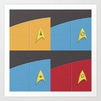 Star Trek - Insignia Art Print