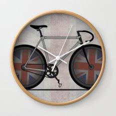 British Cycling is Brilliant Wall Clock