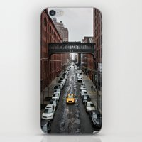 Iconic New York Taxi iPhone & iPod Skin