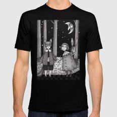 Hansel and Gretel Mens Fitted Tee Black SMALL