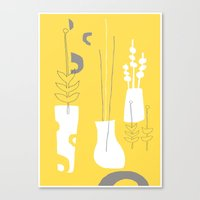Modplants Canvas Print