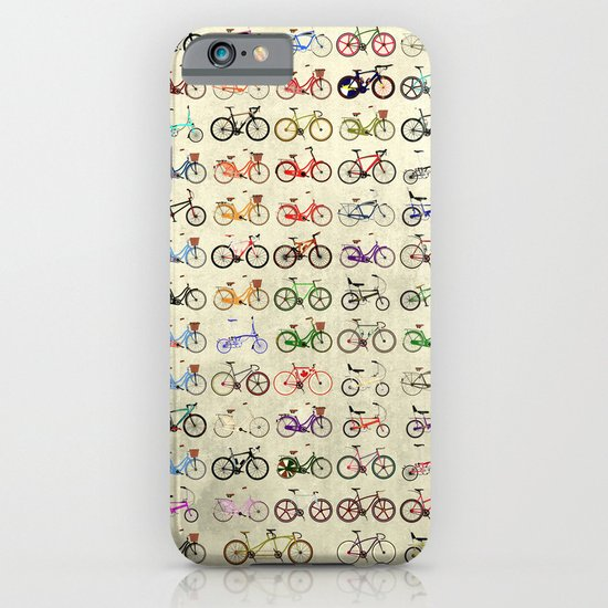 Bikes iPhone & iPod Case