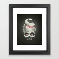 Open Your Mind! Framed Art Print