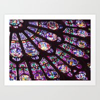 Rose Window (Notre Dame)  Art Print