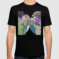 Ghost In The Stone #2 Mens Fitted Tee Black SMALL