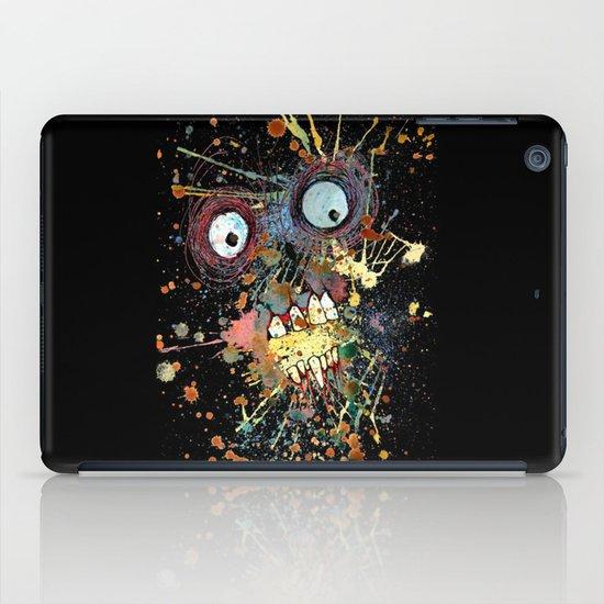 shocked in reverse iPad Case