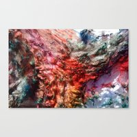 Dyed in the Wool Canvas Print