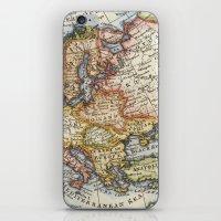 Vintage Maps iPhone & iPod Skin