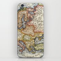 Vintage Maps iPhone & iPod Skin