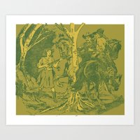 Louis L'Amour - The Romance of Piute Bill Art Print