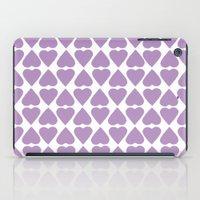 Diamond Hearts Repeat O iPad Case