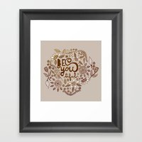 Be You Tiful (gold Editi… Framed Art Print