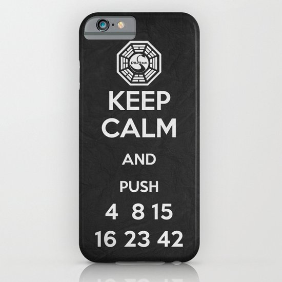 Keep Calm - Lost Poster iPhone & iPod Case