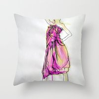 Sarong I Throw Pillow