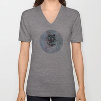 Illusive By Nature (Blue… Unisex V-Neck