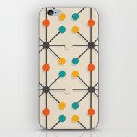 Midcentury Pattern 02 iPhone & iPod Skin