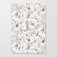 Crabby Pattern Canvas Print