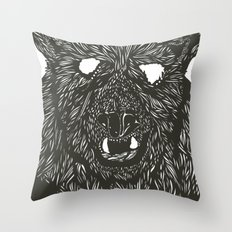 Gnarly Throw Pillow