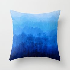 Mists No.4 Throw Pillow
