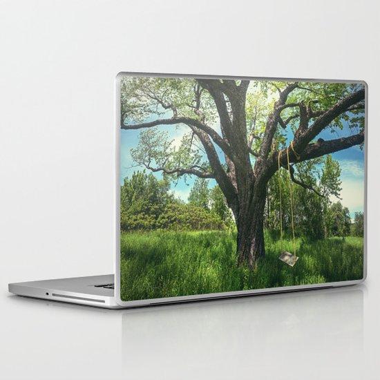 Swing the Summer Away Laptop & iPad Skin