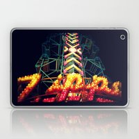 Carnival Lights, The Zipper Laptop & iPad Skin