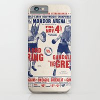 iPhone & iPod Case featuring Lord of the Ring by Vó Maria