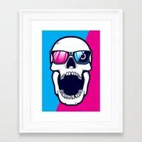 Toothless in color Framed Art Print