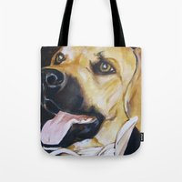 Mans Best Friend - Dog I… Tote Bag