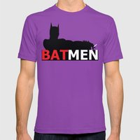 Bat Men Mens Fitted Tee Ultraviolet SMALL