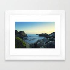 Milky Ocean II Framed Art Print