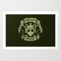 Greedo's Shooting Academ… Art Print