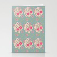 Flower pad Stationery Cards