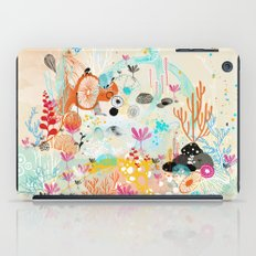 under the water wonderland iPad Case