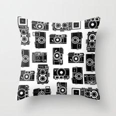 Yashica bundle  Throw Pillow
