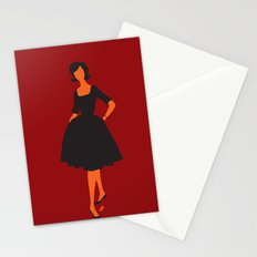 lady 5 Stationery Cards