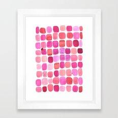Lipstick Framed Art Print