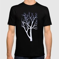 Tree Mens Fitted Tee Black SMALL