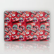 Laptop & iPad Skin featuring AAAGHHH! PATTERN! by Chris Piascik